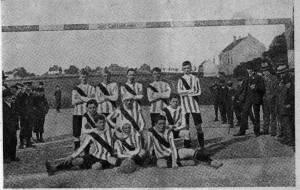Die BVB-Mannschaft von 1911