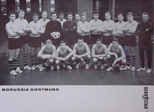 Die BVB-Mannschaft von 1963/64