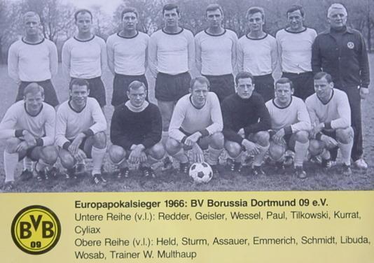 Der Europapokalsieger 1966 - Borussia Dortmund