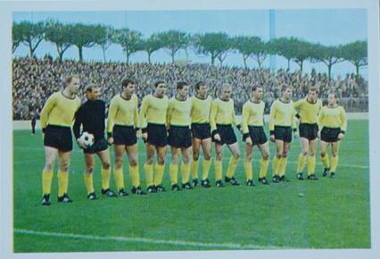 Die BVB-Mannschaft von 1967/68