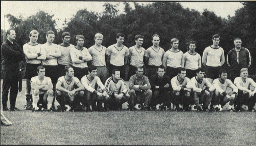 Die BVB-Mannschaft der Saison 1968/69
