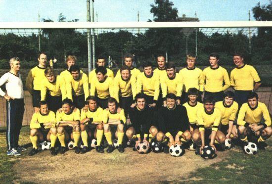 Die BVB-Mannschaft von 1969-70