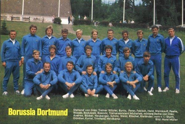 Die BVB-Mannschaft von 1970-71