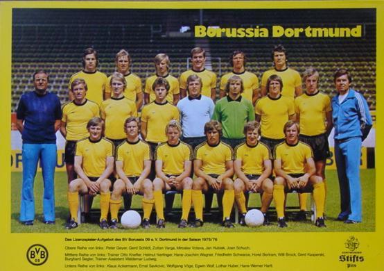 Die BVB-Mannschaft der Saison 1975/76