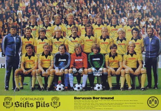 Die BVB-Mannschaft 1978/79