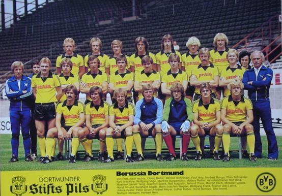 Die BVB-Mannschaft 1979/80