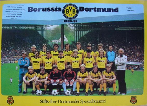 Die BVB-Mannschaft 1980/81