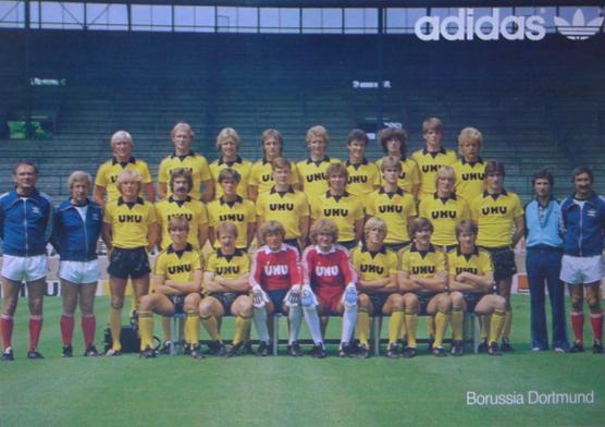 Der Kader der Saison 1981/82