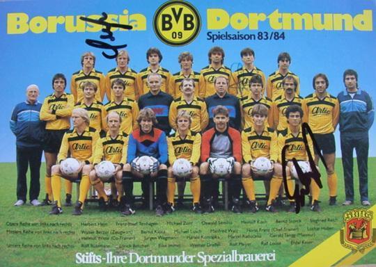 Der Kader der Saison 1983/84