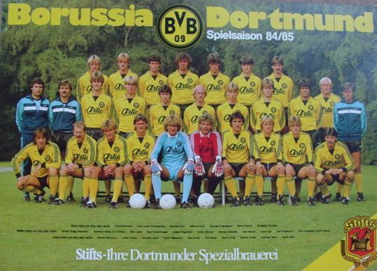 Der Kader der Saison 1984/85