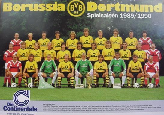 Die BVB-Pokalsieger-Mannschaft
