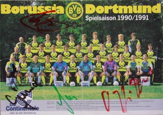 Der Spielerkader 1990/91