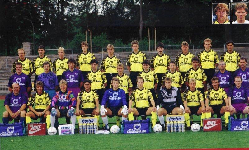 Der BVB-Kader 1992/93