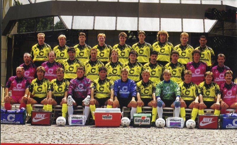 Der BVB-Kader 1993/94