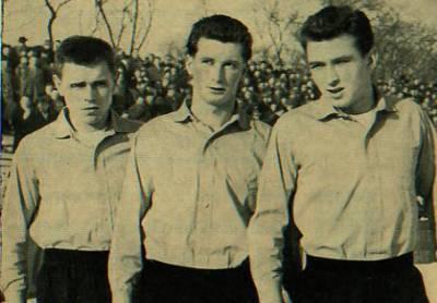 Timo Konietzka, Jürgen Schütz und Aki Schmidt