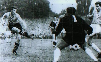 Tor vorn Jürgen Schütz gegen 1860 München