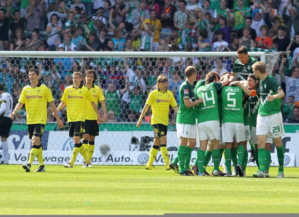 Die zweitletzte Niederlage gegen Bremen erlebte ein Teil der Mannschaft betrunken