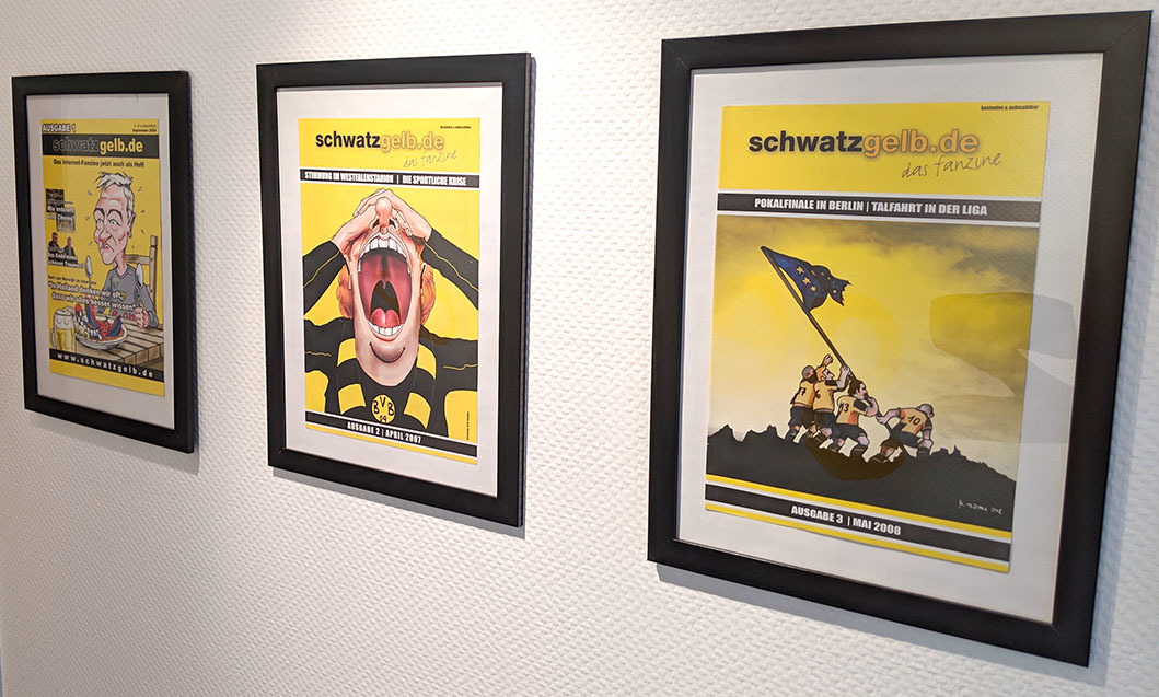 schwatzgelb.de als Print-Ausgabe