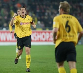 Torjubel zum 1:0 für den BVB