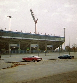Das Westfalenstadion 1975
