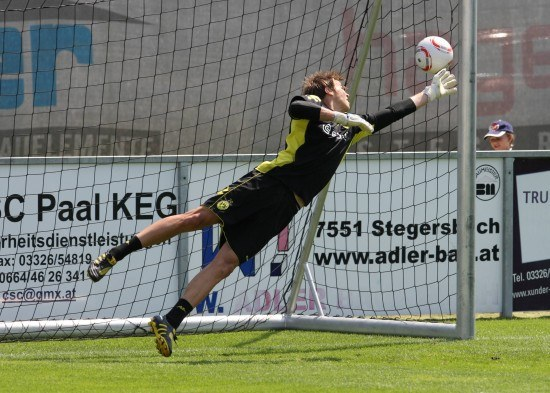 Mitch Langerak im Training