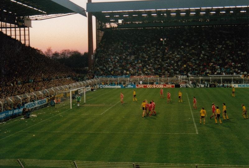 Noch eine Impression aus dem alten Westfalenstadion