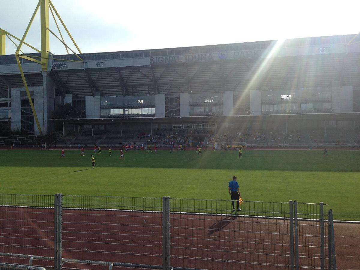 Kicken im Schatten des Westfalenstadions
