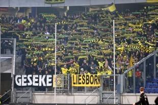 Der Dortmunder Gästeblock