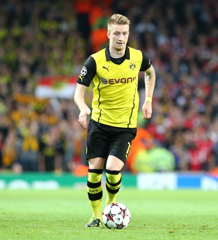 Marco Reus in Aktion