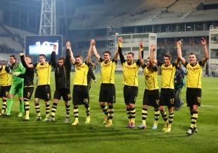Jubel nach Marseille-Sieg