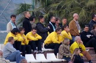 Marbella 2007: Mit Fans auf der Tribüne