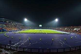 Schmuckstück: das Stadion in Johor Bahru