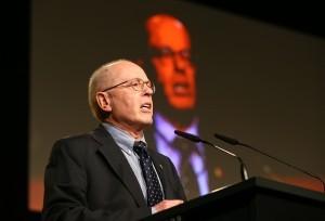 Wolfgang Springer sprach für die Jugendabteilung