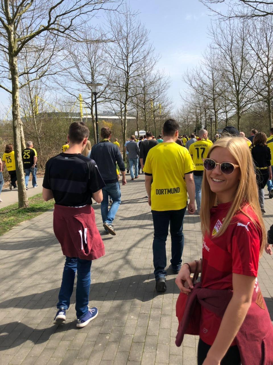 VfB-Fan Sarah