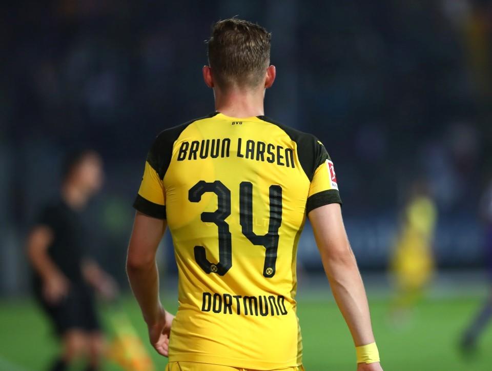 ...und mit der 34 - Jacob.........Bruun-Larsen!