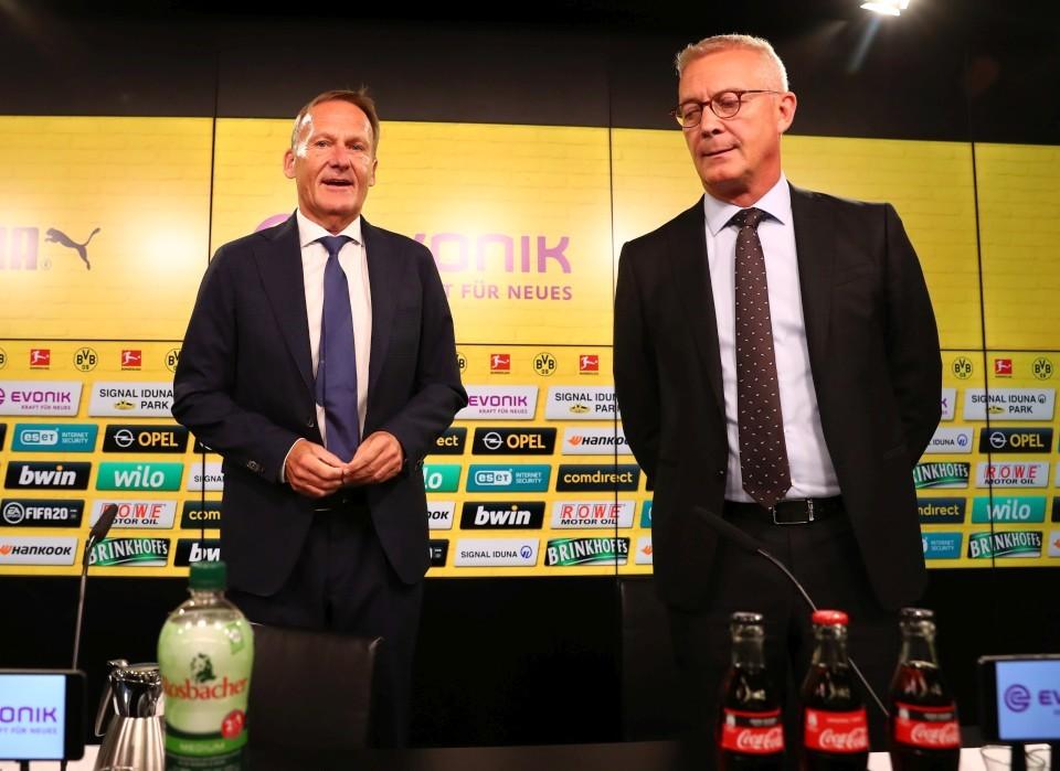 Konnten im Sommer mal wieder sehr gesunde Zahlen präsentieren: Die Geschäftsführer Hans-Joachim Watzke und Thomas Treß