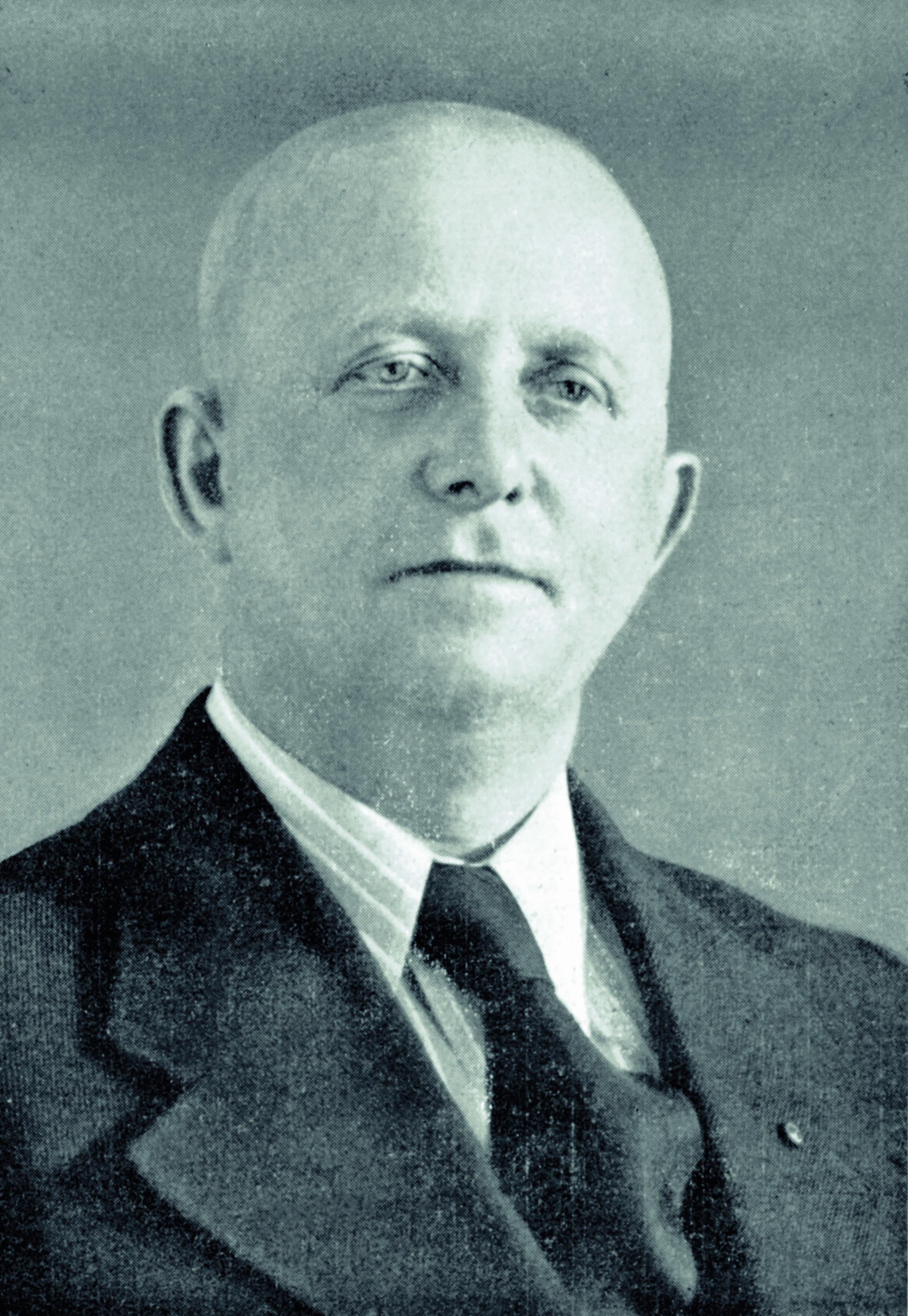 """August Busse 1939 als """"Vereinsführer""""."""