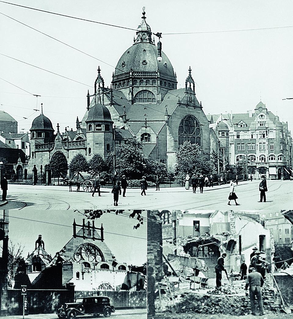 """Die Dortmunder Synagoge, ein """"Gotteshaus für die Ewigkeit"""", wurde 1938 von den Nazis zerstört – angeblich aus """"städtebaulichen Gründen"""""""
