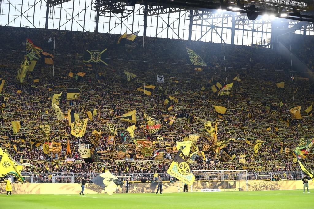 Die Unterstützung war wie schon gegen Leverkusen ordentlich