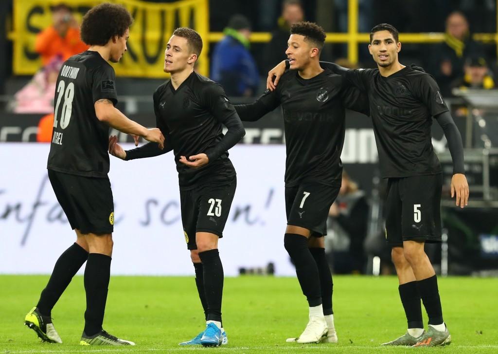 Torjubel zum 2:0: Thorgan Hazard traf nach Berlin nun auch gegen Düsseldorf
