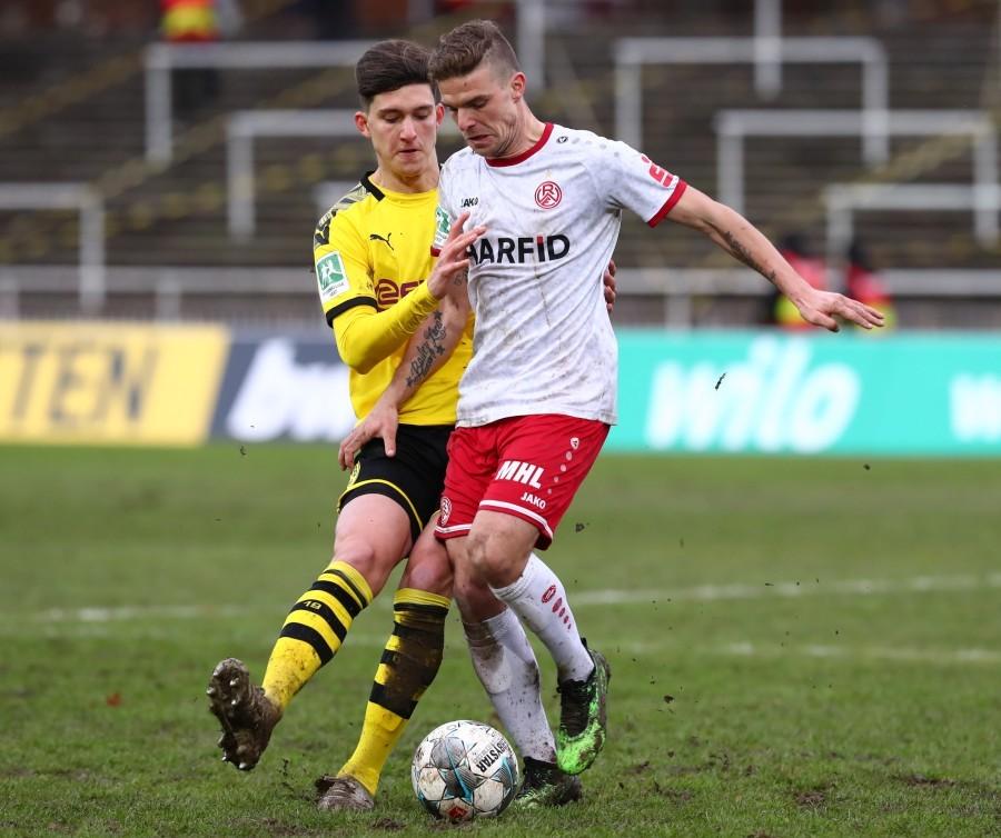 Leonardo Balerdi hing nach dem Heimspiel gegen die Fortuna noch eine Partie dran
