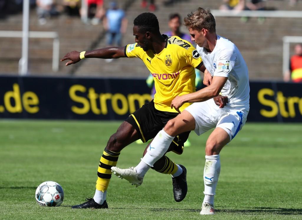 Mory Konate gegen Tim Möller