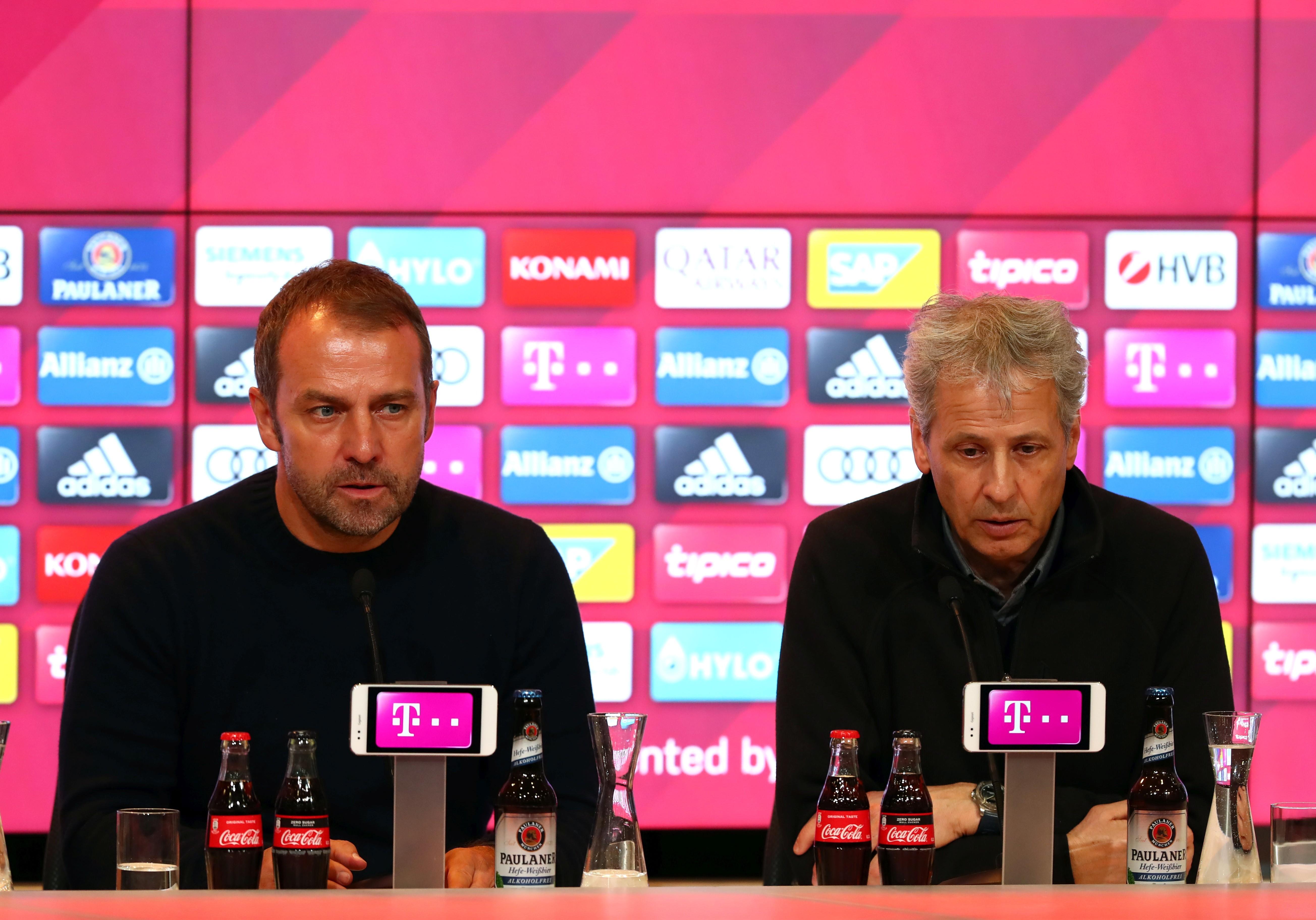 Hansi Flick und Lucien Favre