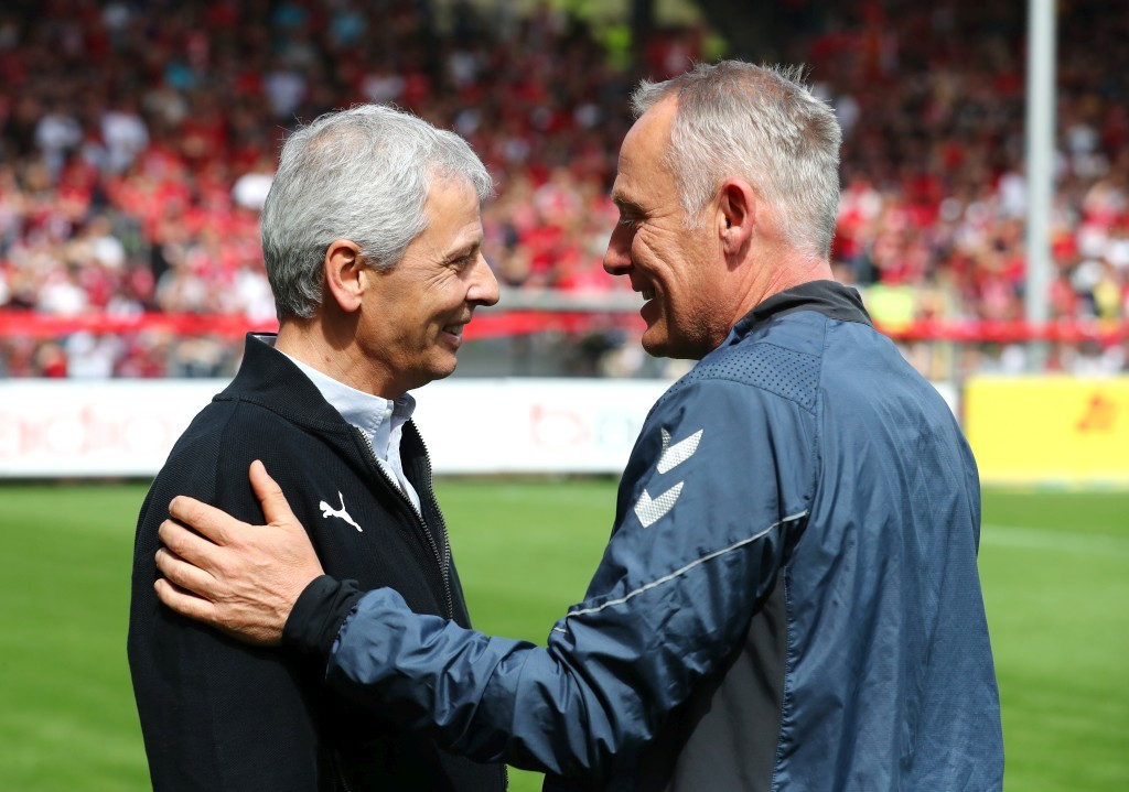 Zwei Trainer die sich mögen