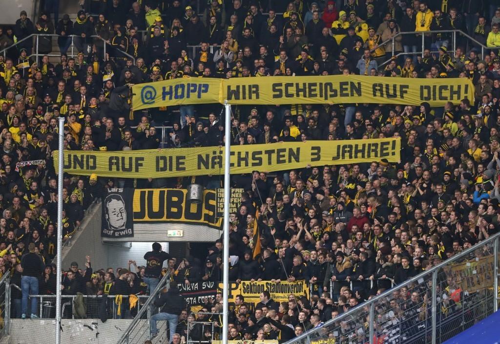 Die BVB-Fans beziehen Stellung zur Causa Hopp