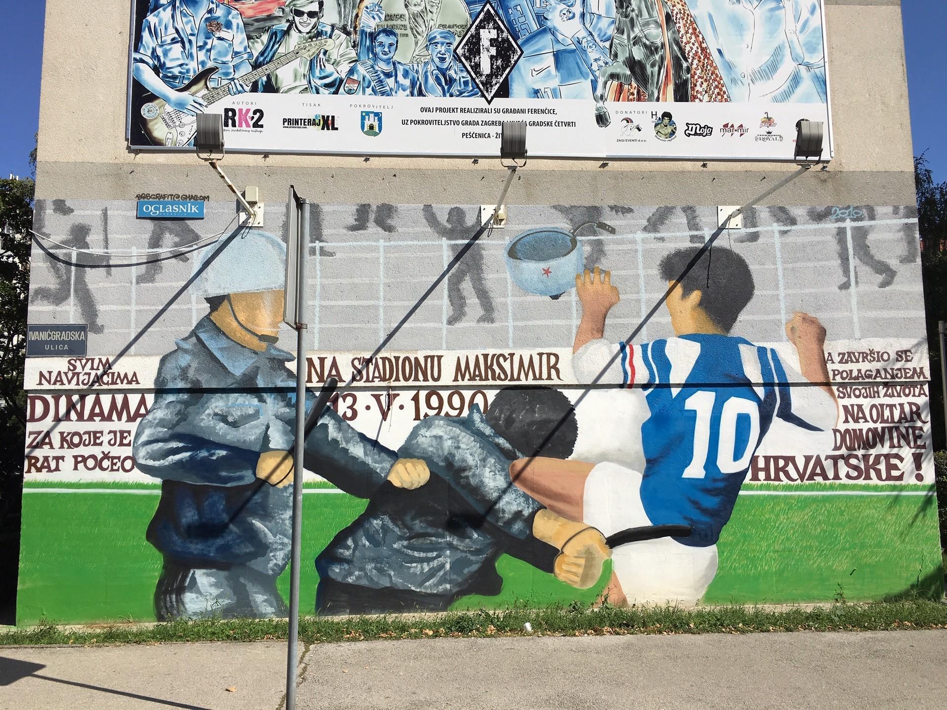 Graffiti in Zagreb