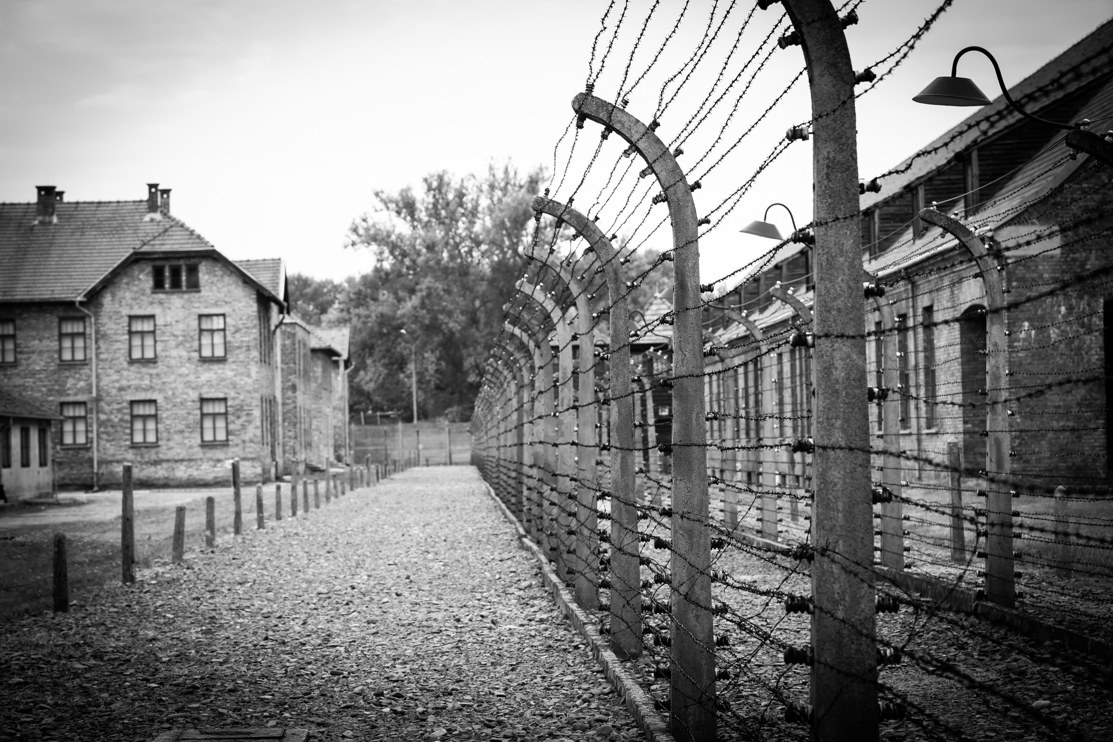 Im Lagerkomplex Auschwitz wurden über 1 Millionen Menschen ermordet