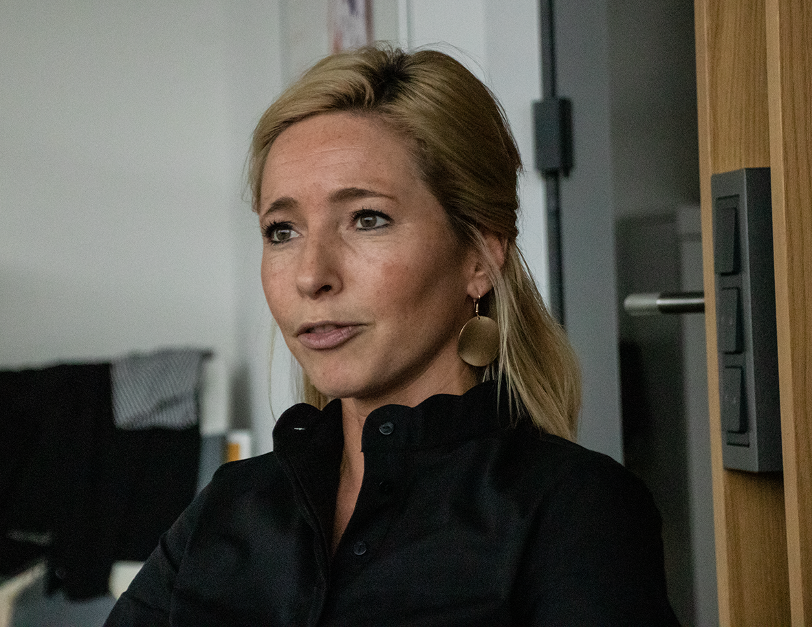 Svenja Schlenker, die neue Abteilungsleiterin Frauen- und Mädchenfußball