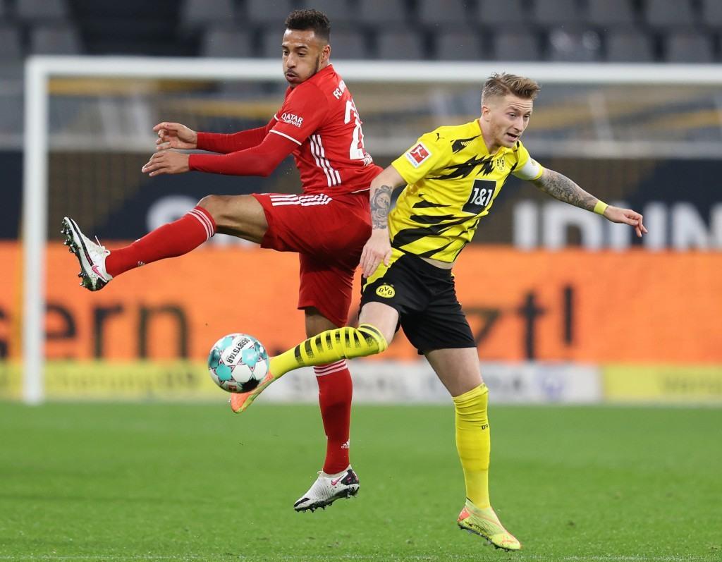 Kingsley Coman gegen Marco Reus