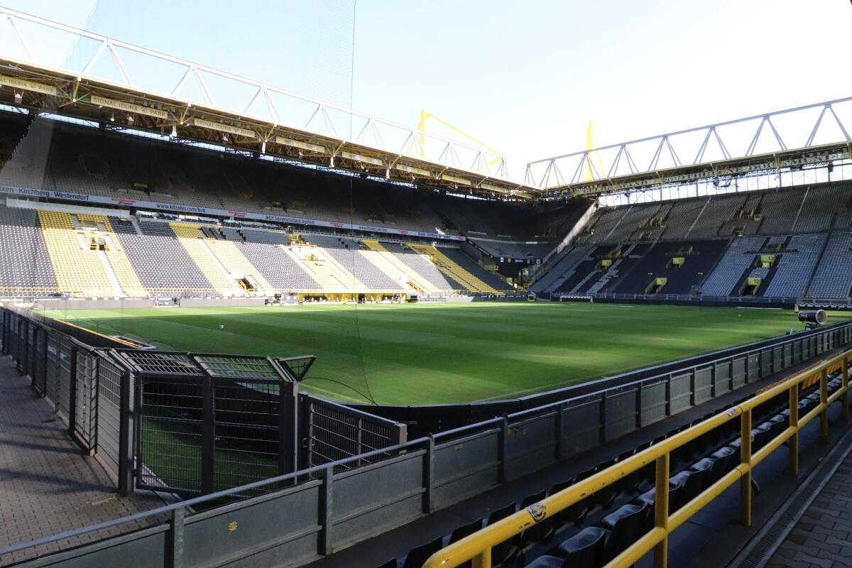 Leider weiterhin ohne Zuschauer: Das Westfallenstadion